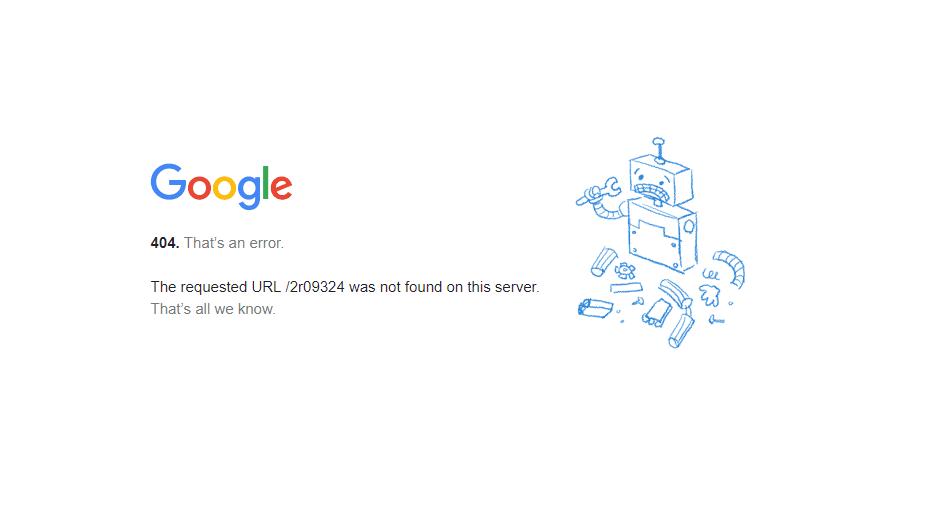 Проблеми в роботі пошукової системи Google та інших сервісах